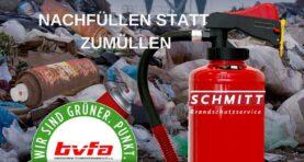 "Aktionvom Bundesverband Technischer Brandschutz e.V.bvfa""Nachhaltig löschen"""