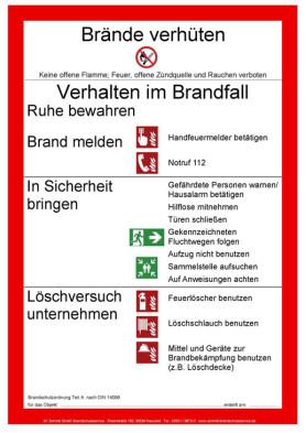 newsletter abonnieren - Brandschutzordnung Muster