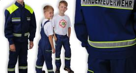 gfd Marktneuheit – Bekleidung für die Kinderfeuerwehr
