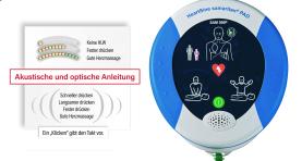 NEU – AED mit HLW-Unterstützung in Echtzeit